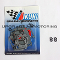 Mikuni 44 PHH Carburetor Gaskets Rebuild Kit Z70-1044 with Two Figure Eight O-rings Package