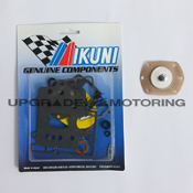 Mikuni 40 PHH Carburetor Gaskets Rebuild Kit with Pump Diaphragm Z70-1040+PD. Genuine Mikuni Parts Made in Japan. Solex.