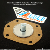 Mikuni Solex 50PHH Carburetor - Pump Diaphragm (Membrane Assembly) on Sale at Upgrade Motoring!
