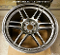 AME TM-02 18x9.5 5x114.3 +22 Hyper Silver Wheel on Sale at Upgrade Motoring!